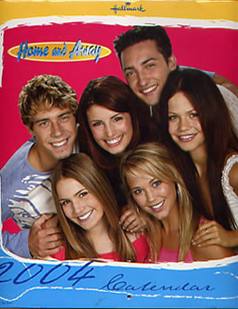 Home and Away 2004 Calendar - Front