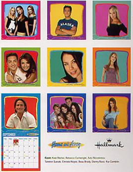Home and Away 2004 Calendar - Back