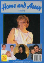Home and Away blue annual