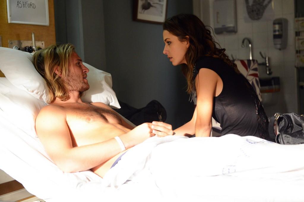 Ash and Phoebe act close at the hospital