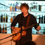 Ed Sheeran performing in Angelo's
