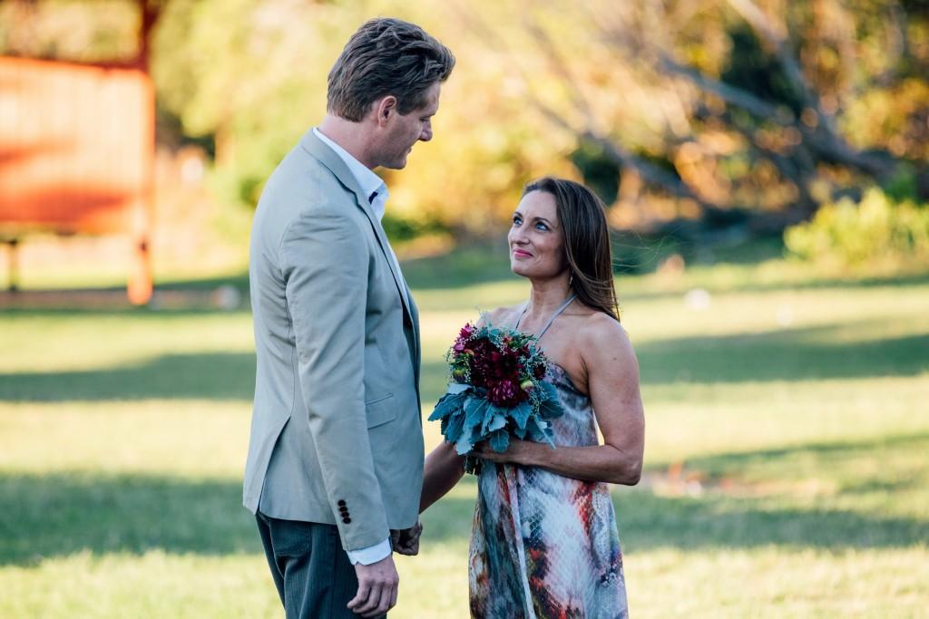 Roo (GEORGE PARKER) arrives for her weddingEpisode 6298Block 1260