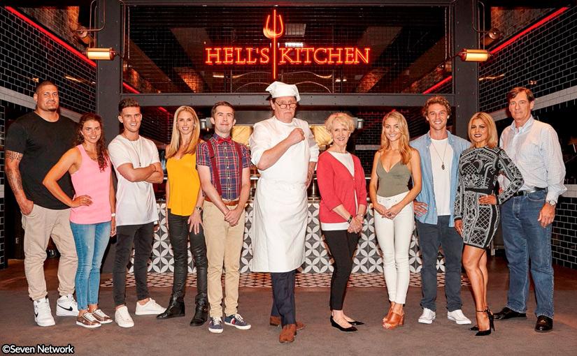 Debra & Lincoln for Hell's Kitchen Australia