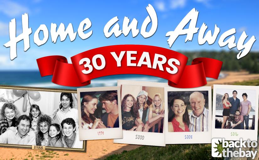 Happy Birthday! Home and Away Celebrates 30th Anniversary!