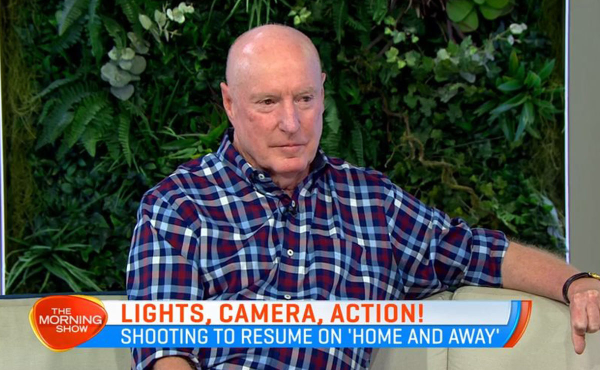 Ray Meagher looking forward to Home and Away's return to production