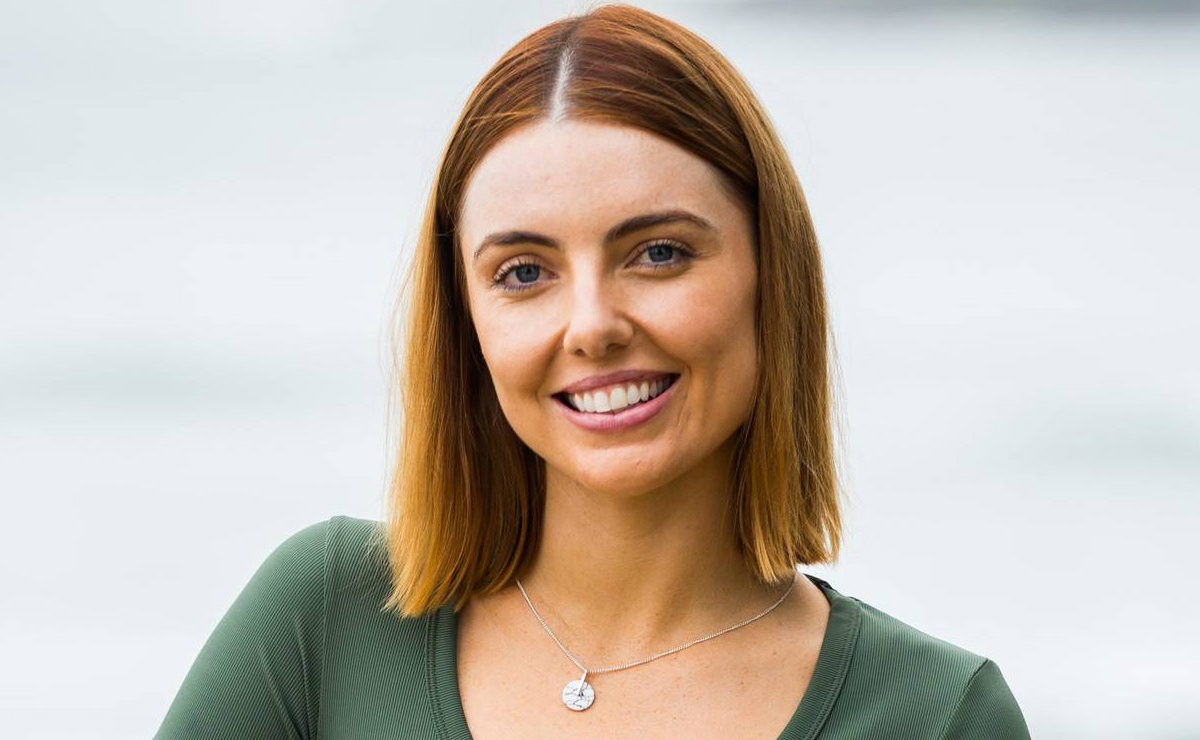 Home and Away's Maddy Jevic (Amber) records new version of the show's iconic theme
