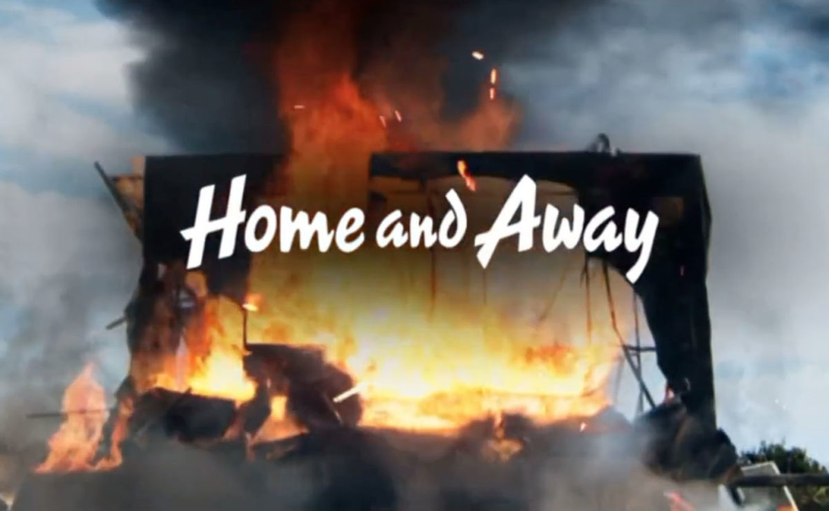 Home and Away sees dramatic explosion in new promo