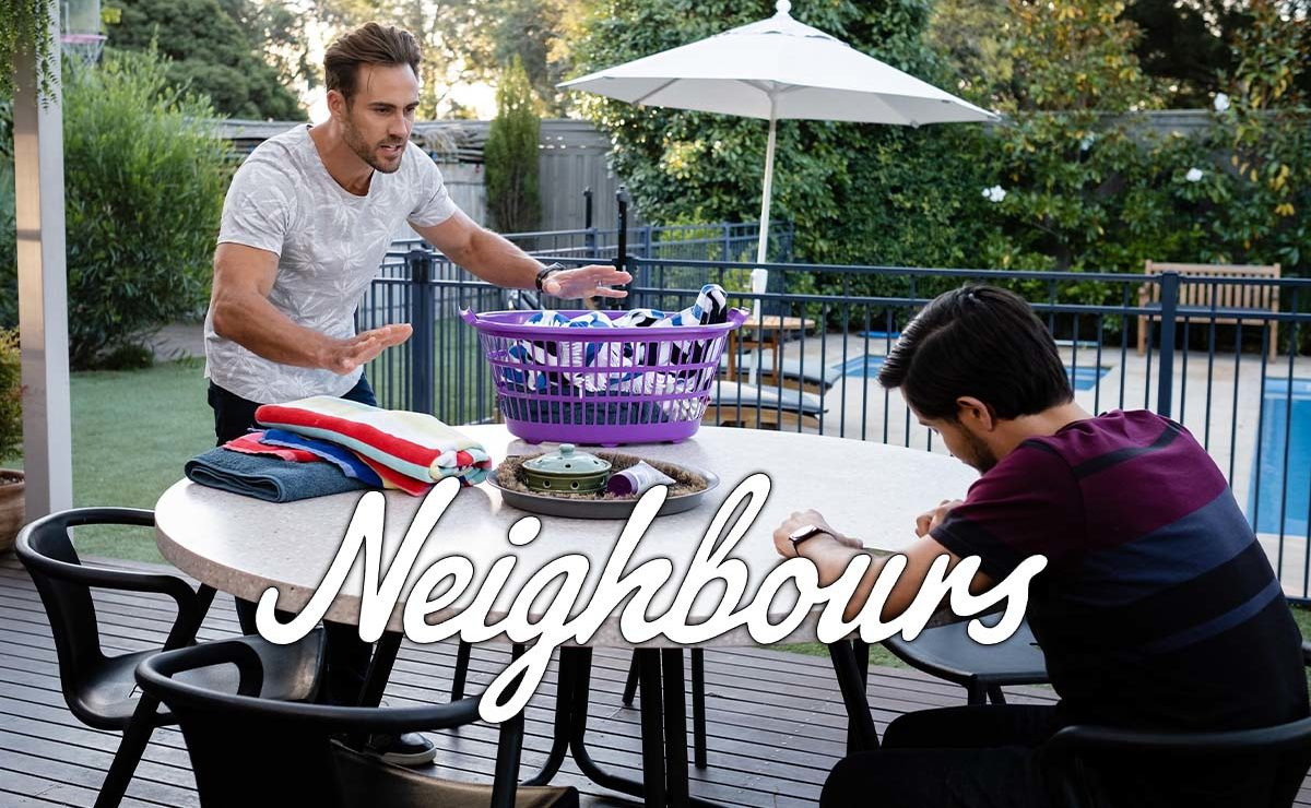 Neighbours Spoilers – Aaron gives David some tough love
